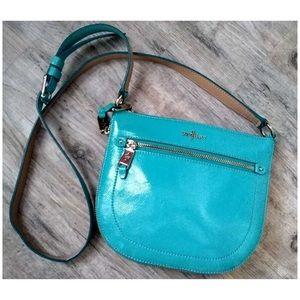 Cole Haan Turquoise Small Crossbody Purse Handbag